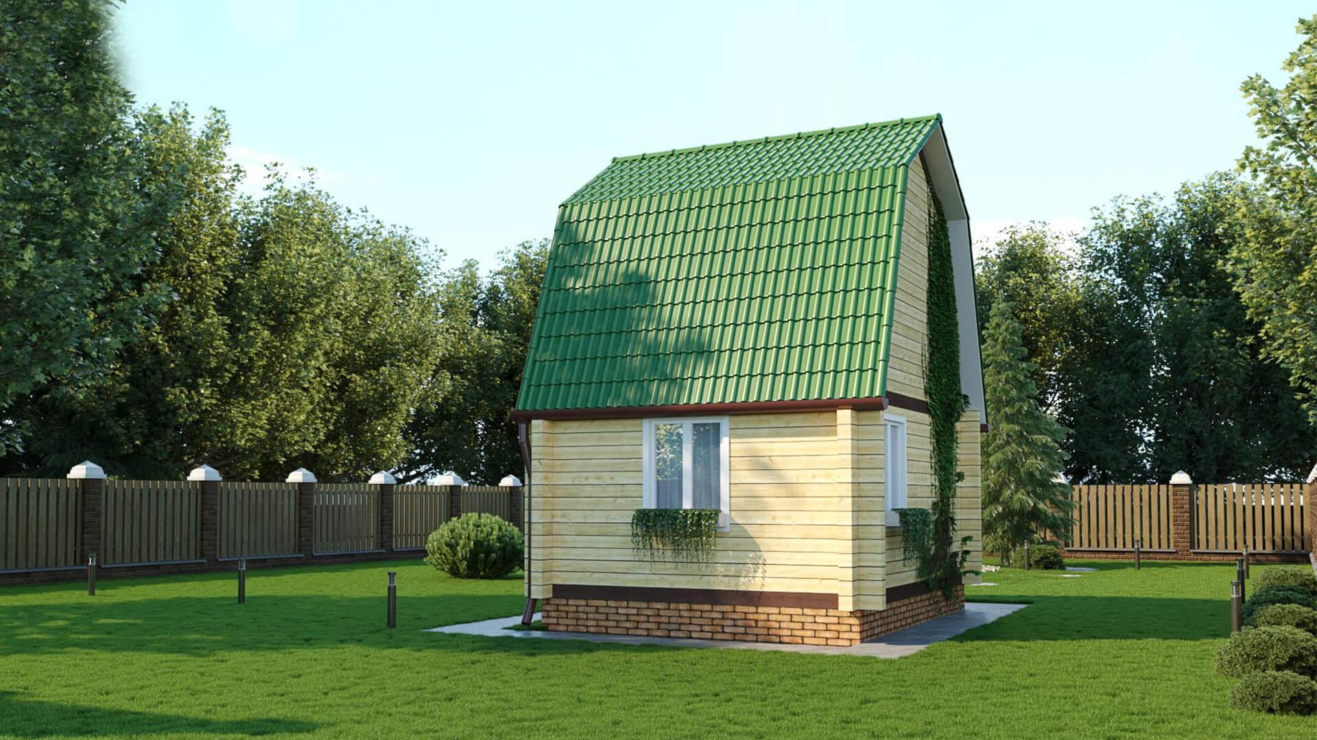 Проект дома из бруса Кемерово